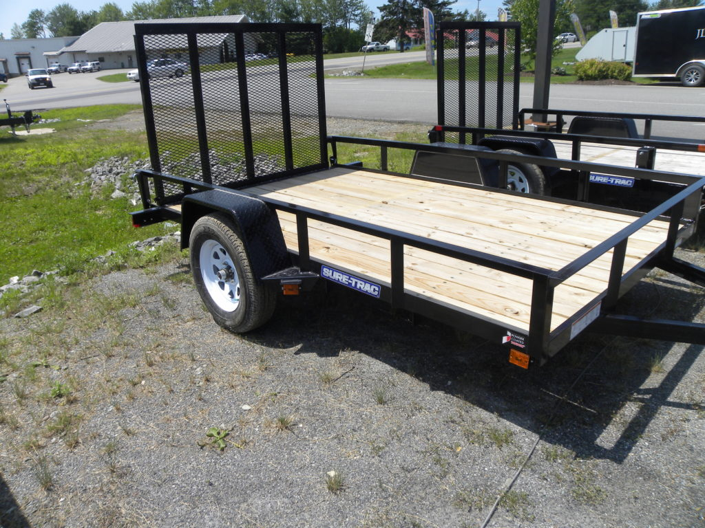 New 2018 Sure-Trac 6 x 10 Angle Iron Utility Trailer ...